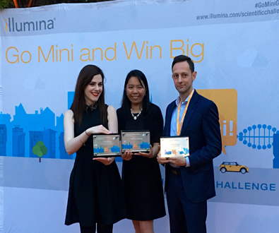 Illumina Announces Winners of Go Mini Scientific Challenge